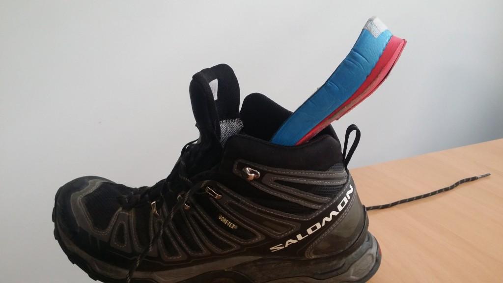 Heel Wedges in Boots