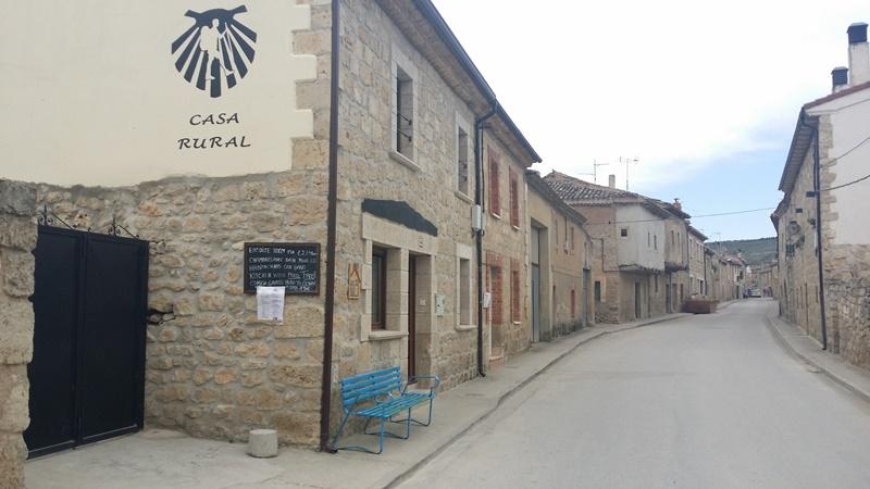 Casa Rural in Hornillos Spain