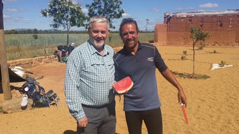 Rob O'Byrne with David Vidal
