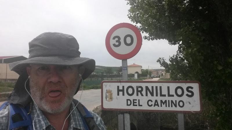 Walking to Hornillos