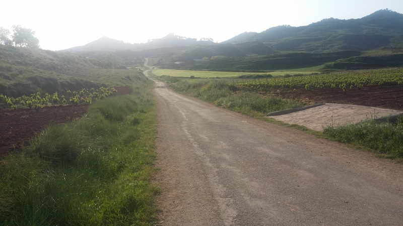 8th of May – A Day of Emotion   Walking to Nájera