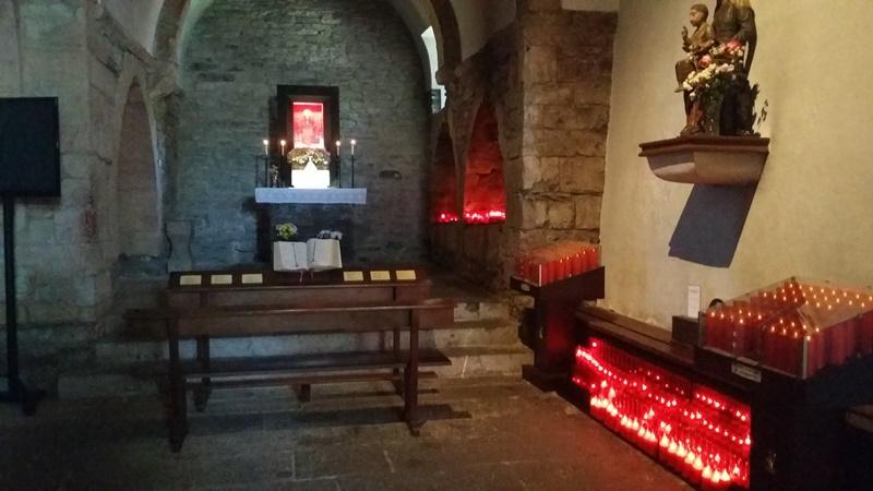 Inside O Cebreiro Church