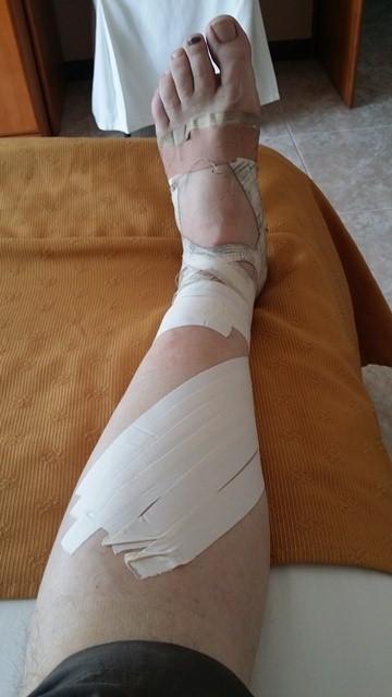Camino foot care