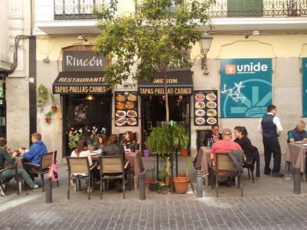 Tapas Restaurant in Madrid