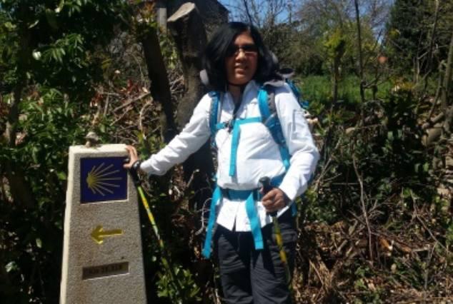 Walking to Arzua