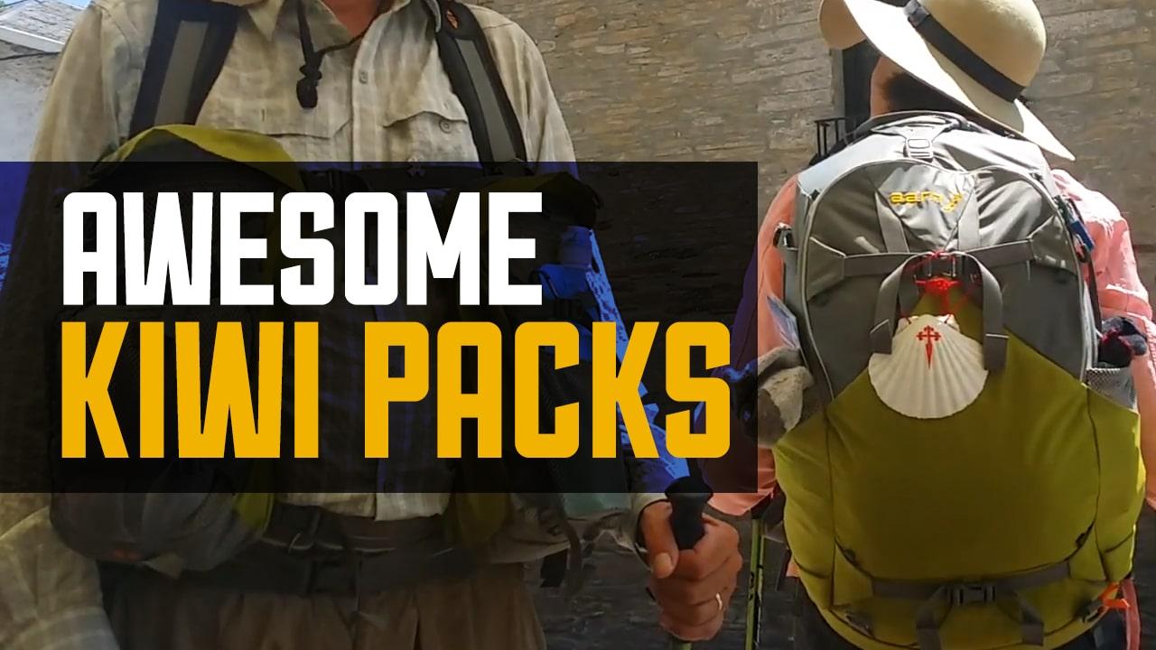 The Awesome Kiwi Packs – Camino de Santiago – Aarn Packs