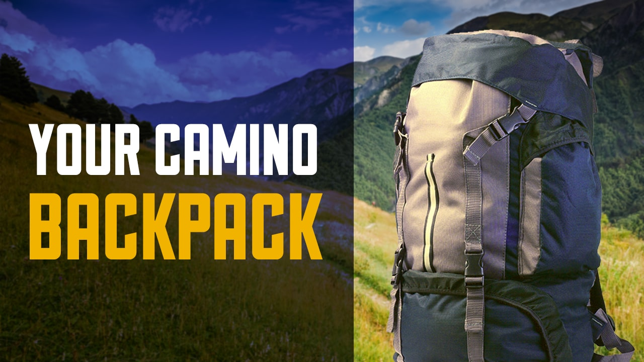 Your Camino Back Pack – How Large is it?