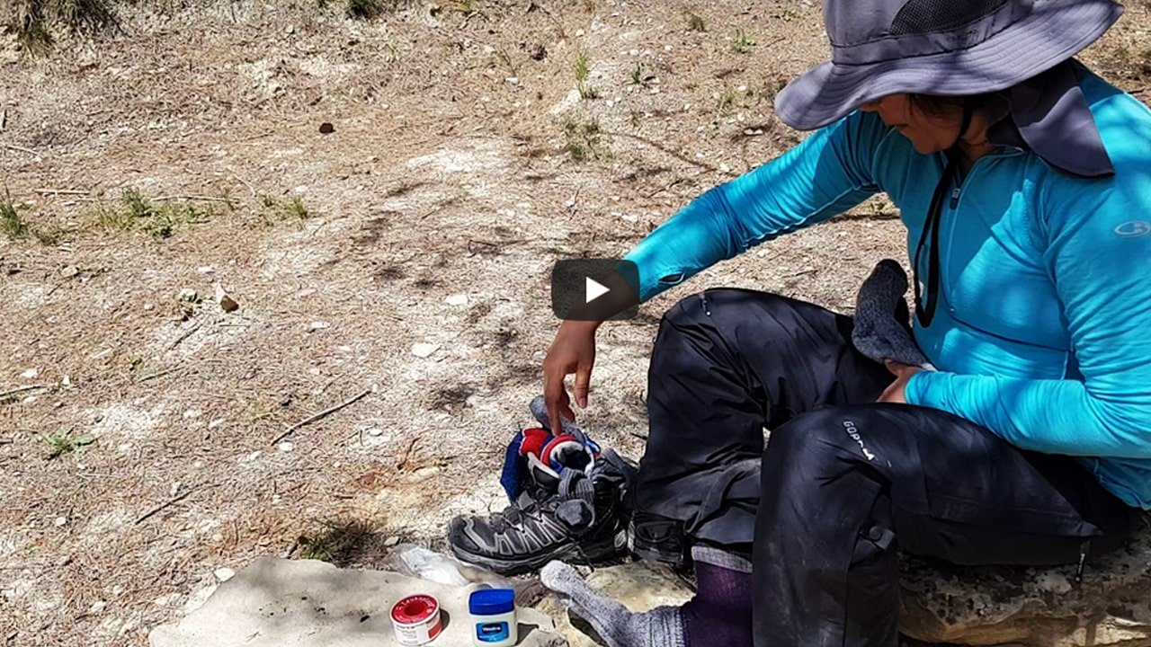 Camino Foot Care – Tape and Hikers Wool – Camino de Santiago