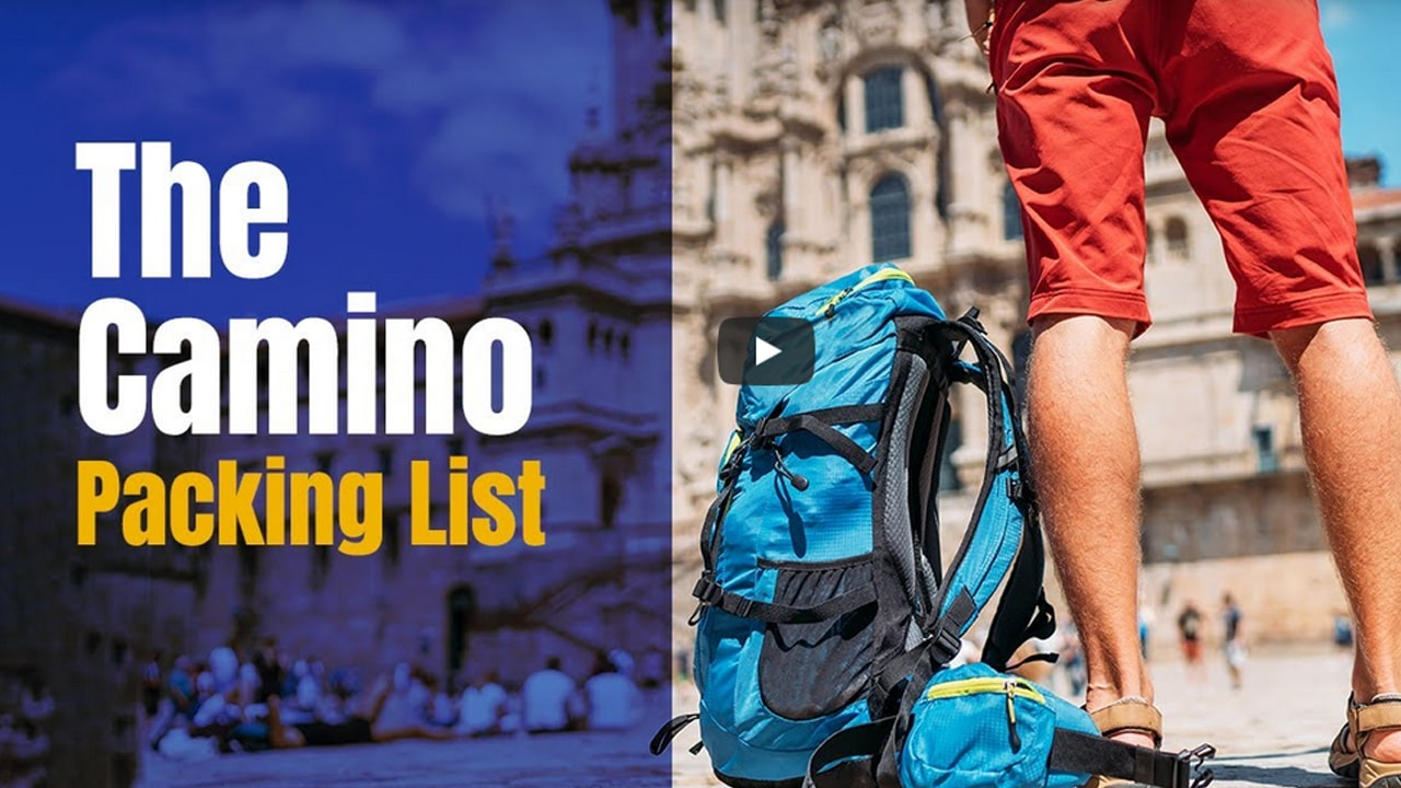 My Camino Packing List with Download