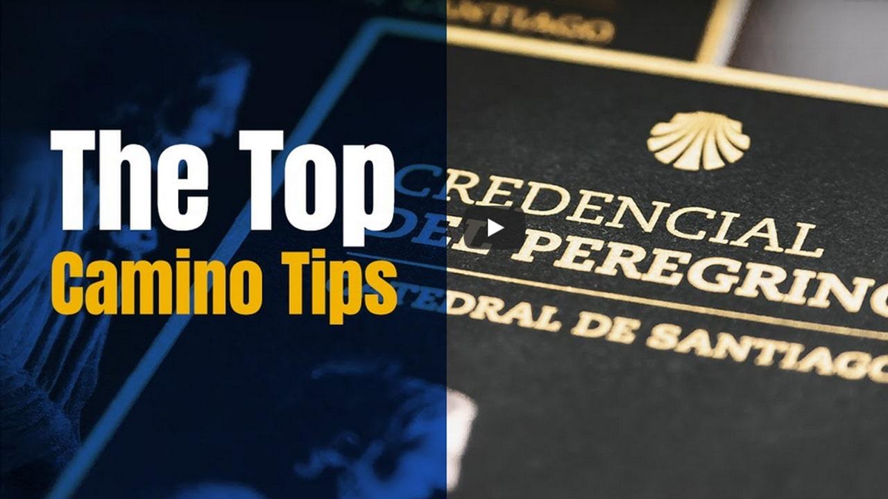 Camino Top Tips with David