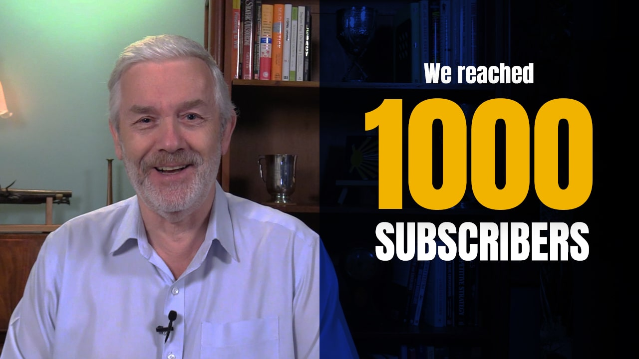We hit a Robs Camino Milestone – 1,000 Subscribers