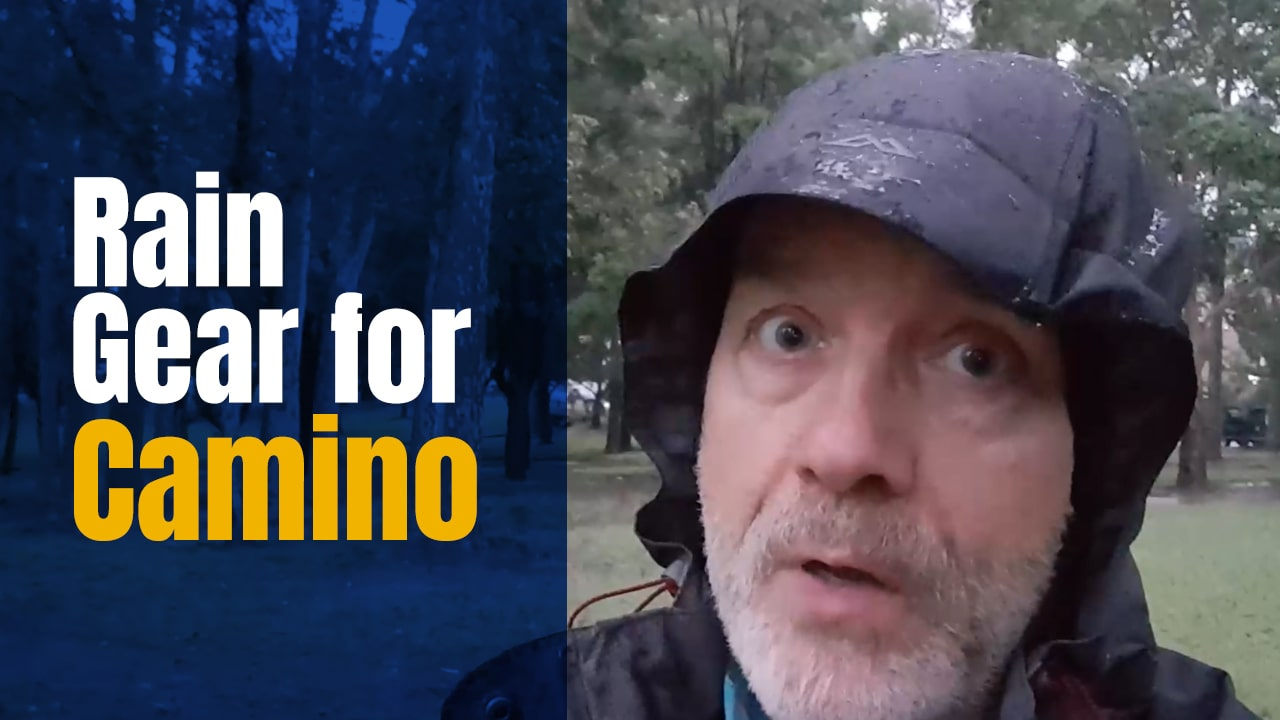 Camino Rain Gear – The Options