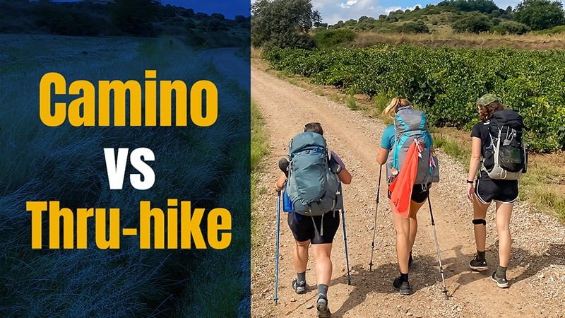 Camino V Thru Hike with Sarah Dhooma – How Are They Different?