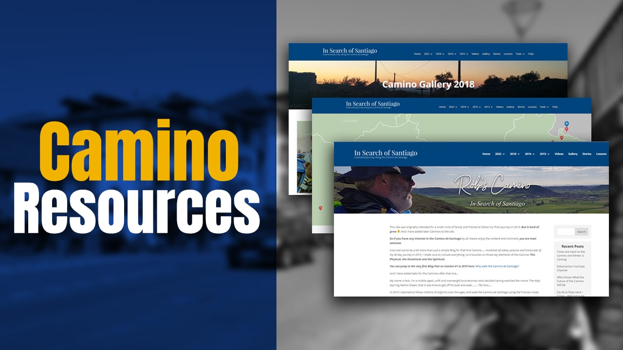 Camino Resources – Some Downloadable Planners – Blogs – Pictures and More